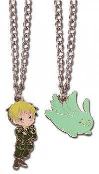 Hetalia: Axis Powers Necklace - England & Youseisan