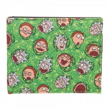 Rick and Morty Bi-Fold Wallet - Portal Collage