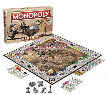 Team Fortress 2 Board Game - Monopoly Collector's Edition