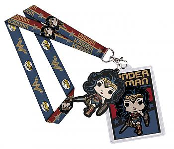 Wonder Woman Movie POP! Lanyard - Wonder Woman