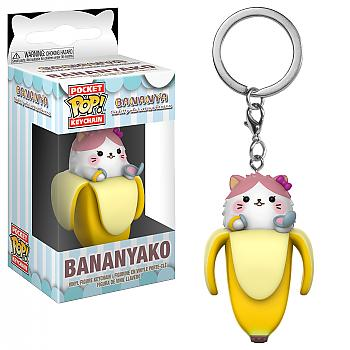 Bananya Pocket POP! Key Chain - Bananyako
