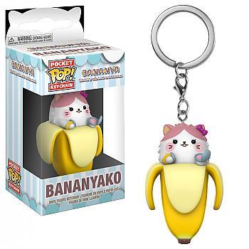 Bananya Pocket POP! Key Chain - Bananyako