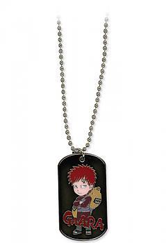 Naruto Shippuden Necklace - Chibi Kazekage Gaara Dog Tag