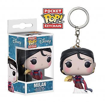 Mulan Pocket POP! Key Chain - Mulan (Disney)
