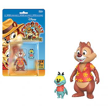 Chip 'n Dale: Rescue Rangers Action Figure - Dale and Zipper (Disney Afternoon)
