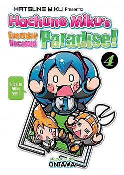 Hatsune Miku Presents: Hachune Miku's Everyday Vocaloid Paradise Manga Vol. 4