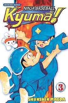Kyuma, Ninja Baseball Manga Vol. 3