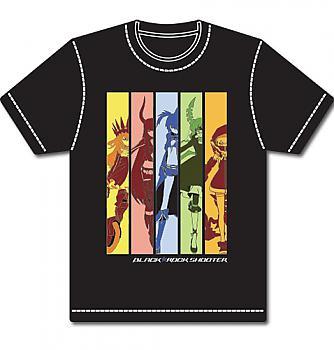 Black Rock Shooter T-Shirt - Girls Rainbow Panel (M)