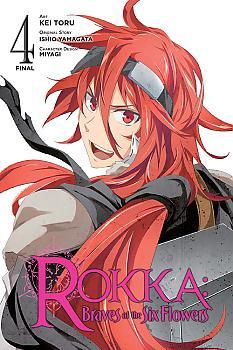 Rokka: Braves of the Six Flowers Manga Vol.  4