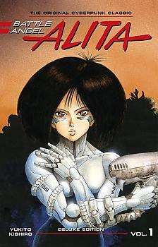 Battle Angel Alita Deluxe Edition Manga Vol. 1