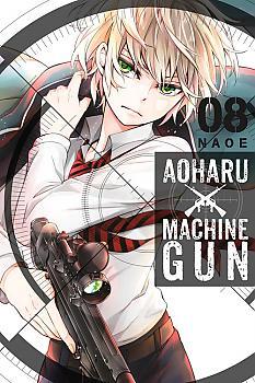 Aoharu X Machinegun Manga Vol. 8