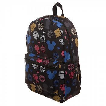 Kingdom Hearts Backpack - Emblems