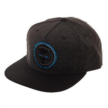 Black Panther Cap - Black Snapback