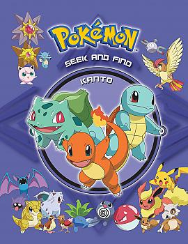 Pokémon Seek and Find: Kanto Activity Book