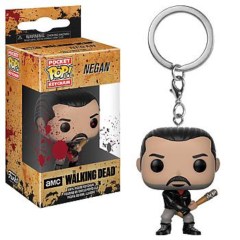 Walking Dead Pocket POP! Key Chain - Negan