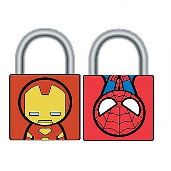 Marvel Locks - Iron Man & Spider-Man Padlocks (2 Locks)
