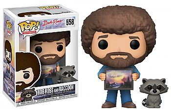 POP! Television POP! Vinyl Figure - Bob Ross w/ Animal