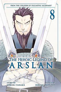 Heroic Legend of Arslan Manga Vol. 8