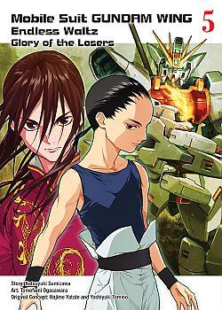 Gundam Wing Manga Vol. 5 - The Glory of Losers