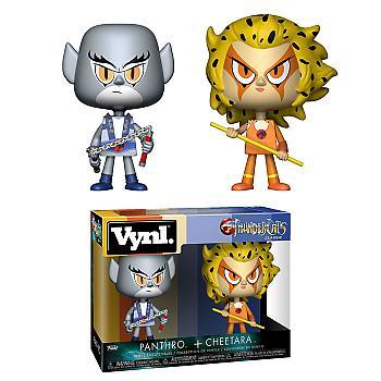 Thundercats Vynl. Figure - Panthro & Cheetara (2-Pack)