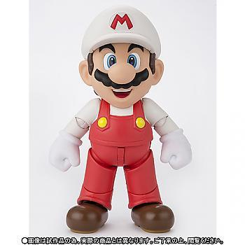 Nintendo Fire Mario S.H. Figuarts Action Figure - Super Mario Bros.
