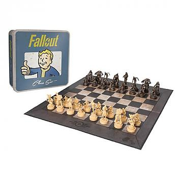 Fallout Board Game - Chess Set Collector's Edition