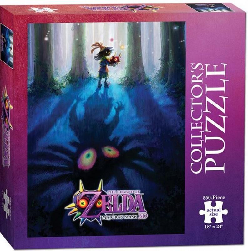 Legend of Zelda Puzzle - Majora's Mask Dark Forest Shadow