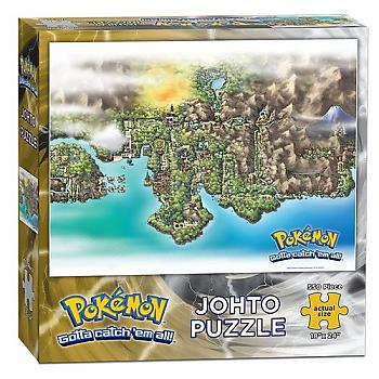 Pokemon Puzzle - Johto Map