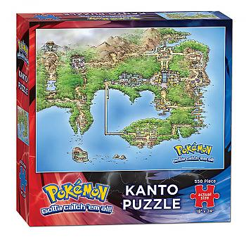 Pokemon Puzzle - Kanto Map (550 Pieces)