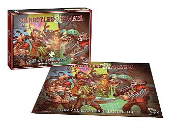 Team Fortress 2 Puzzle - Gargoyles and Gravel (1000 PCS)