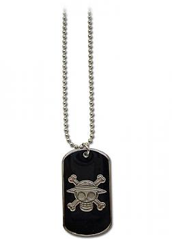 One Piece Necklace - Straw Hat Pirates Dog Tag