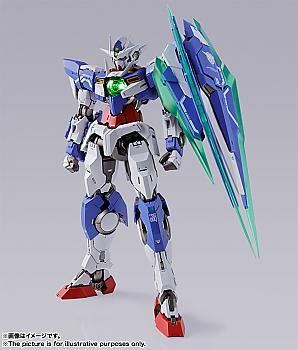 Gundam 00 Build Action Figure - 00 Qan[T] Metal