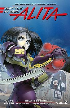 Battle Angel Alita Deluxe Edition Manga Vol. 2