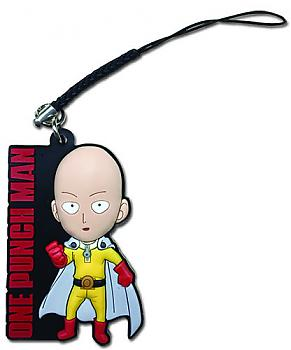 One-Punch Man Phone Charm - SD Saitama