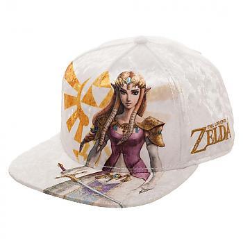 Zelda Cap - Twilight Princess Zelda Velvet Snapback