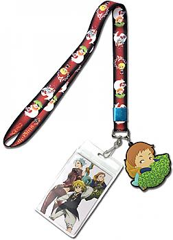 Seven Deadly Sins Lanyard - King Red