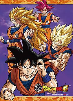 Dragon Ball Super Wall Scroll - Goku Forms