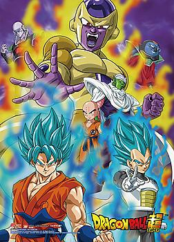 Dragon Ball Super Wall Scroll - Resurrection F Characters