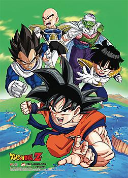 Dragon Ball Z Wall Scroll - Namek Saga Heroes
