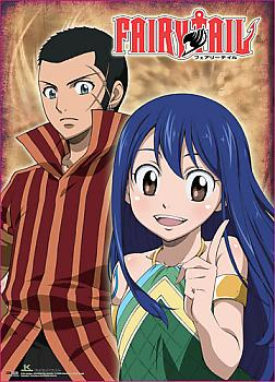 Fairy Tail Wall Scroll - Doranbolt & Wendy