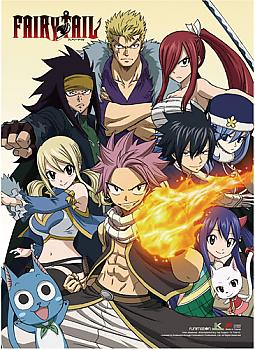 Fairy Tail Wall Scroll - Fairy Tail Heroes