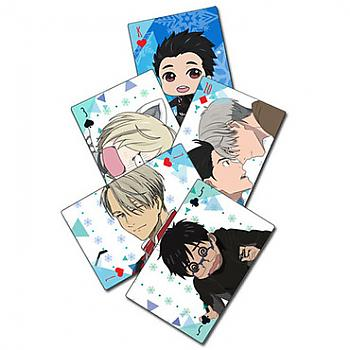 Yuri!!! On Ice Playing Cards - Screen Caps & SD