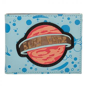 Rick and Morty Bi-Fold Wallet - Blips and Chitz