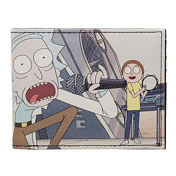 Rick and Morty Bi-Fold Wallet - Gets Schwifty