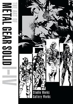 Metal Gear Solid Art Book - Art of Metal Gear Solid I-IV