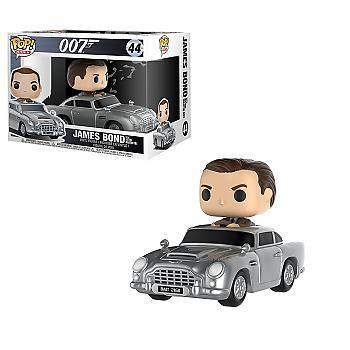 James Bond POP! Rides Vinyl Figure - James Bond in Aston Martin