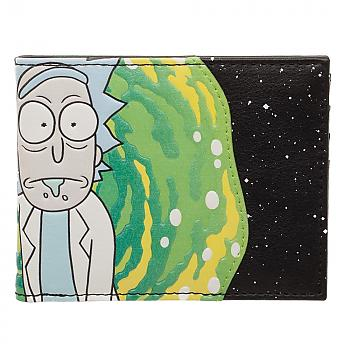 Rick and Morty Bi-Fold Wallet - Pay Attention PU