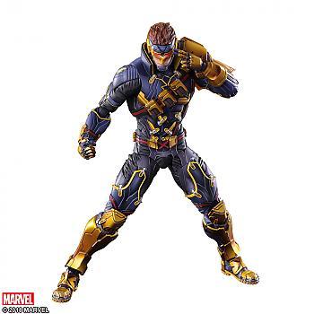 X-Men Play Arts Kai Action Figure - Cyclops Variant (Marvel)