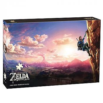 Zelda Puzzle - Breath of the Wild Scaling Hyrule (1000 PCS)