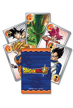Dragon Ball Super Playing Cards - Battle of the Gods Characters Group